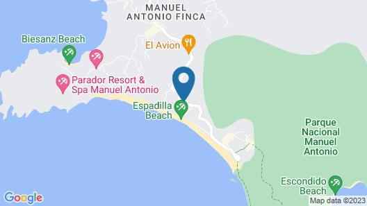 Karahe Beach Hotel Map