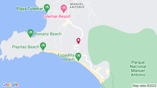 Hotel Costa Verde Map