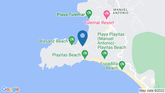 Shana by the Beach Hotel Residence & Spa Map
