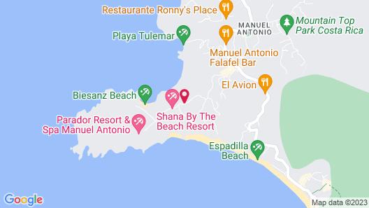 Oceans Two Resort Map
