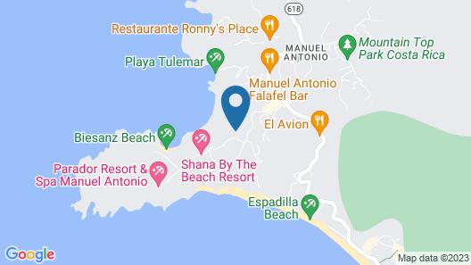 Makanda by the Sea Map