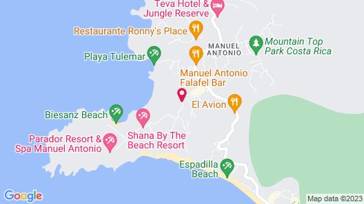 Jungle Vista Boutique Hotel Map