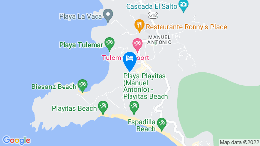 Mango Moon Villa Map