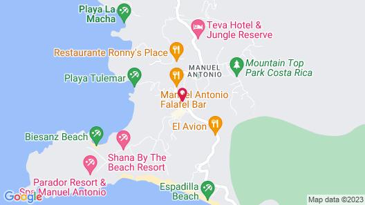 Hotel Divisamar Map