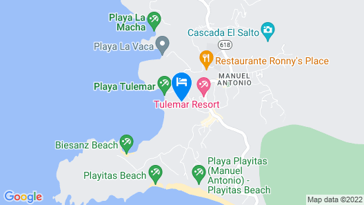 Monkitail at Tulemar Map