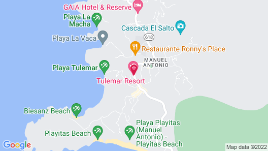 Tulemar Resort Map