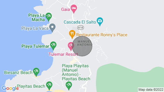 Ocean View! Monkeys! Macaws! Close to the Beach and Everything you Want to do!  Map