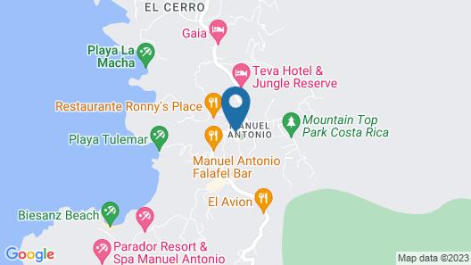 Buena Vista Beach Villas Map