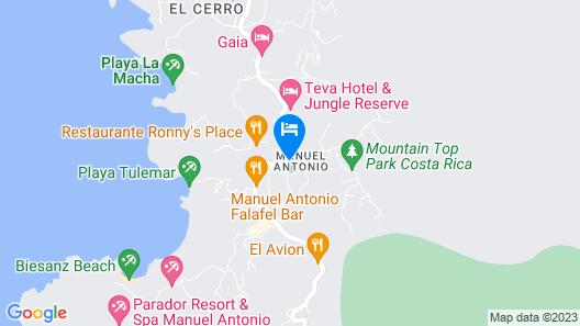 La Mariposa Hotel Map