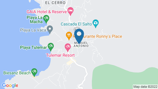 Hotel Flor Blanca Map