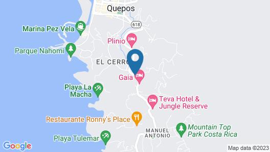 Hotel Plaza Yara Map