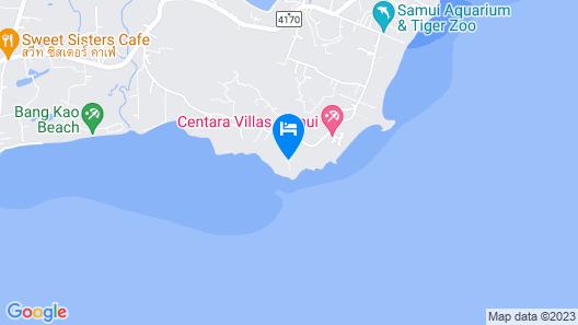 ShaSa Resort & Residences, Koh Samui Map