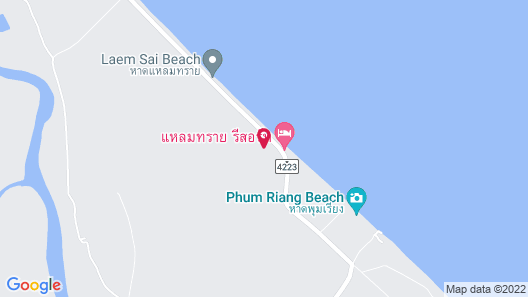 Roong Arun Resort Map