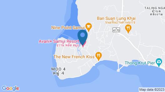 Avani+ Samui Resort (SHA Plus+) Map