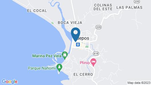 Hotel Serenity Map