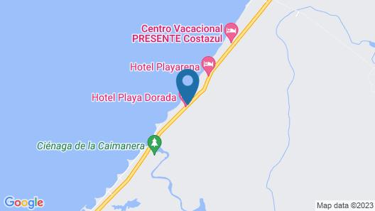 Hotel PLAYA DORADA Map