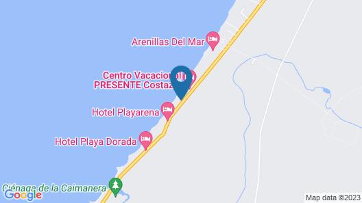 Camino Palmero Coveñas Map