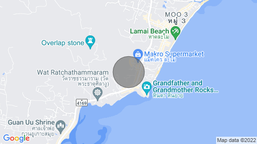 Livia Luxurious Cottage, Sea View, Walkable to the Beach Map