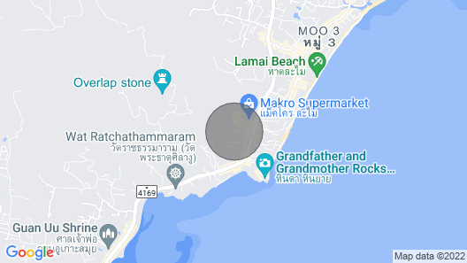 Paloma Luxurious Cottage, Sea View, Walkable to the Beach Map