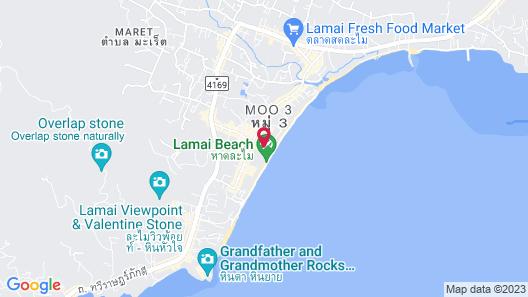 The Hive Hotel Samui Map