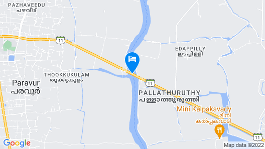 GuestHouser 3 BHK Houseboat e567 Map