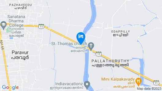 OYO 23231 KHBO Gold Sharing Houseboat Map