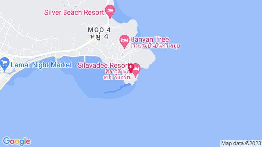 Silavadee Pool Spa Resort Map