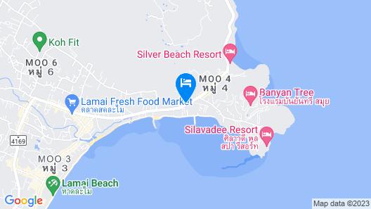 The Lamai Samui (formerly Le Méridien Koh Samui Resort & Spa) Map