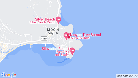 Banyan Tree Samui Map