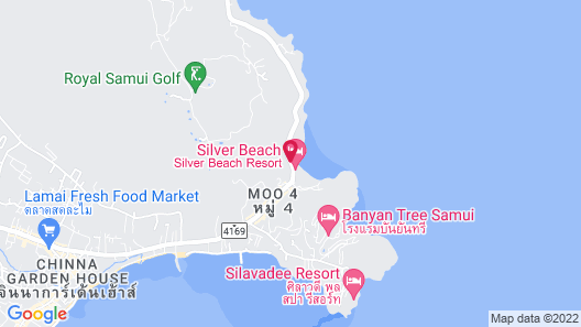 Crystal Bay Beach Resort Map