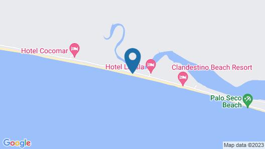 Clandestino Beach Resort Map