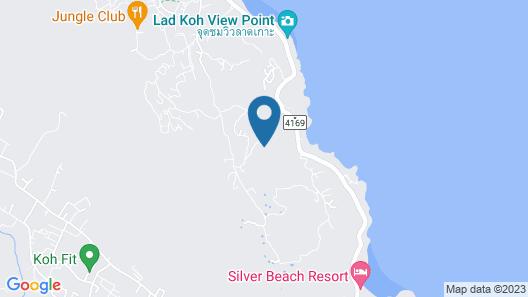 Villa The Spot Koh Samui Map