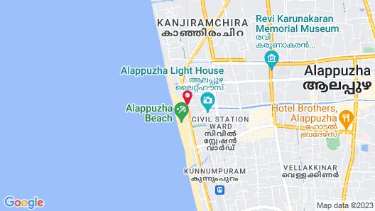 Baywatch Beach Resort Map
