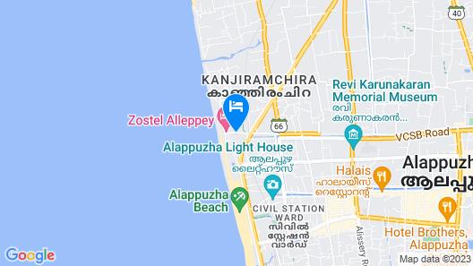 Panaromic Sea resort by Nextel Map