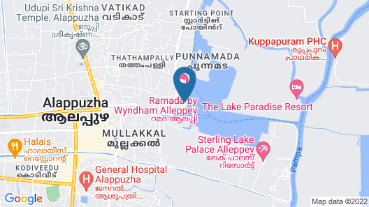 Cosy Houseboats Map