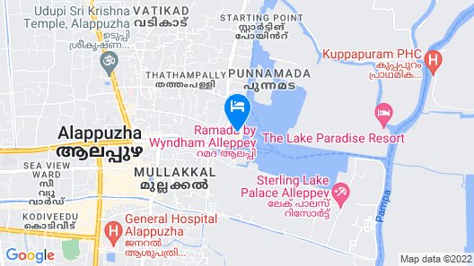 Premium Luxury Houseboat Map