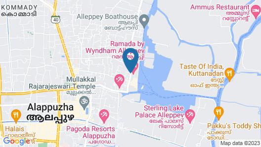 Ramada by Wyndham Alleppey Map