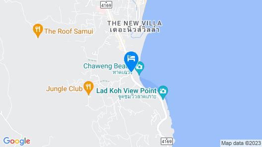 Sheraton Samui Resort Map