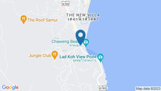 Chaweng Noi Pool Villa Map