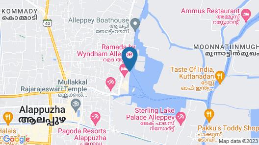 Beachparadise  Daycruise houseboat Map
