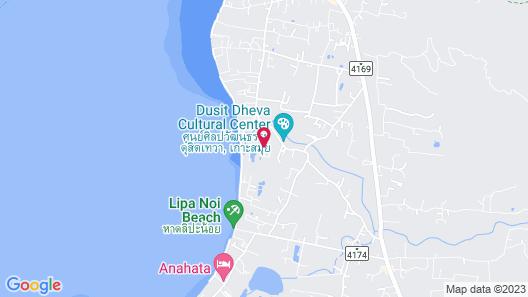 Open Mind Samui Naturist Resort - Adults Only Map