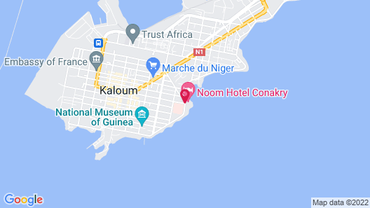 Noom Hotel Conakry Map