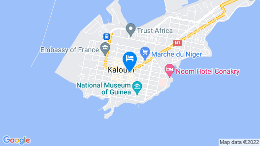 Grand Hotel Central Map