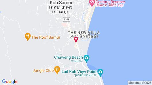 Vana Belle, a Luxury Collection Resort, Koh Samui Map