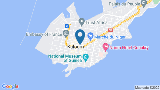 Hotel Golden Plazza Map
