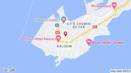 L'Almamya Hôtel & Résidence Map