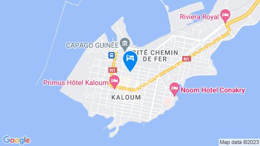 Hôtel M'lys Map