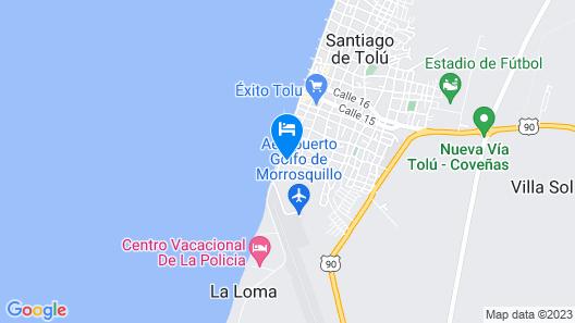 Hotel Montecarlo Map