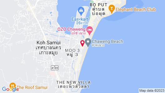 Samui Green Hotel Map