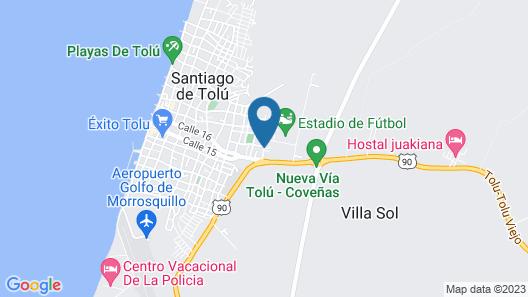 Hotel Soleira Map